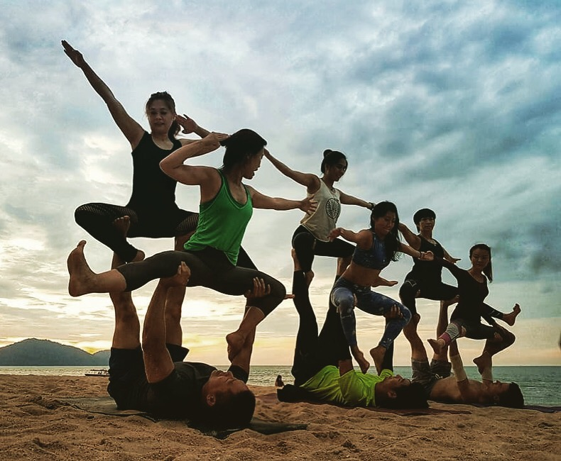 AcroYoga to perform at Penang Rendezvous