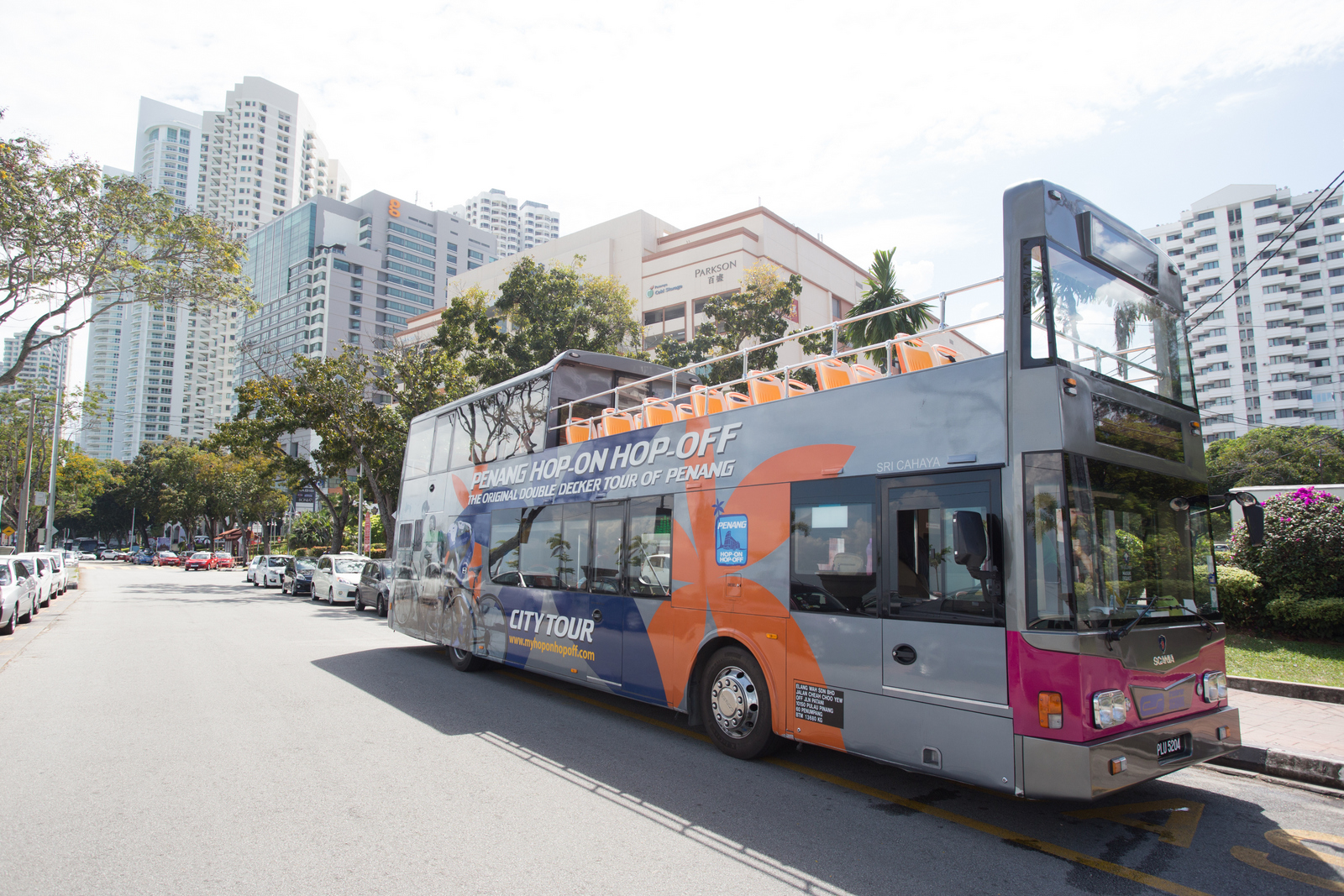 Take the Penang Hop-on Hop-off bus to Penang Rendezvous 2018